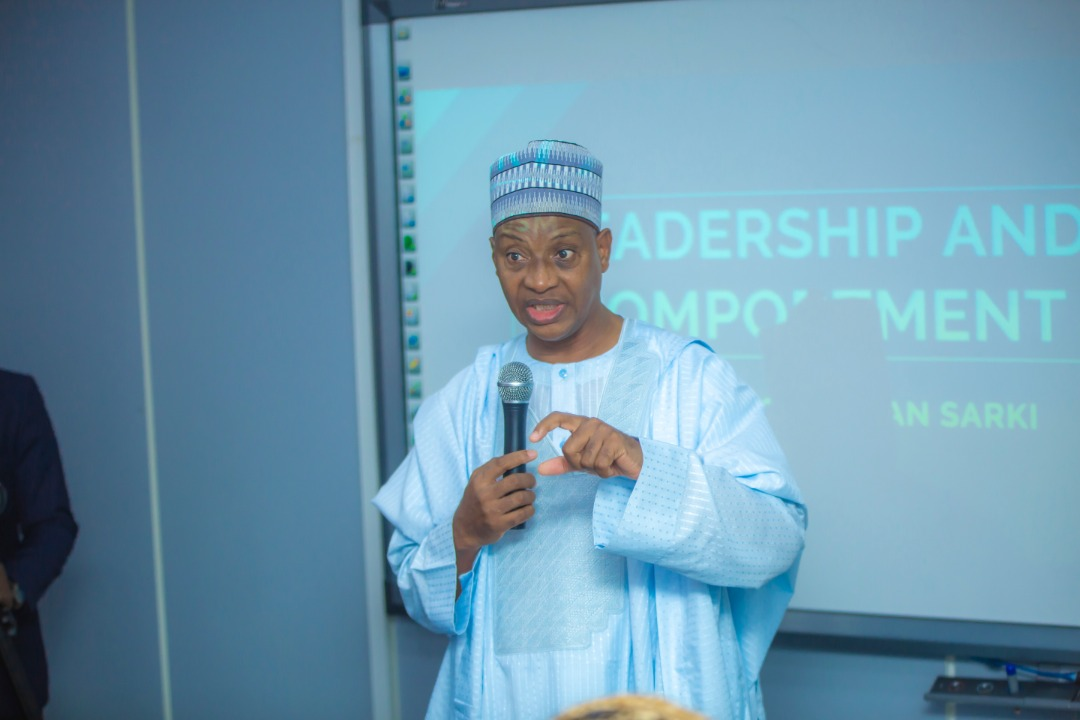 Eddie Speaks to leaders in Nigeria