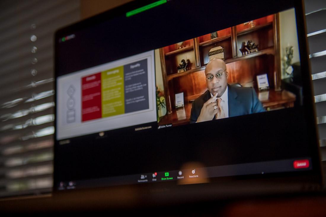 Eddie Speaking on Allyship at Dow Chemical in India